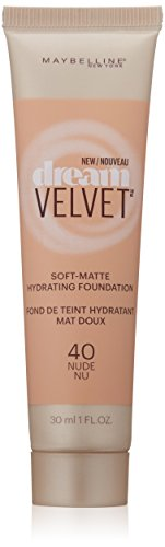 Maybelline New York Dream Velvet Foundation, Nude, 1 Fluid Ounce