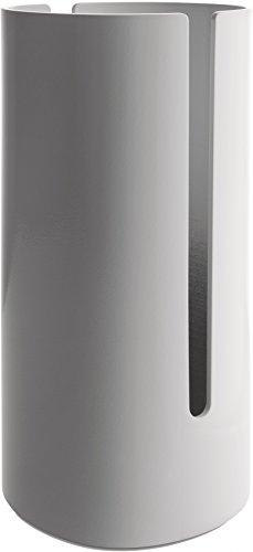 Alessi Birillo Toilet Paper Roll Container, White - PL18 W