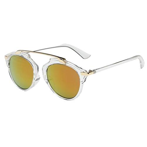 3aa79a2a4e Unisex Retro Vintage Gafas de Sol - Gafas de Sol para Hombre y Mujer  Delicado