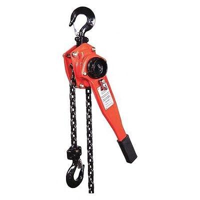 Lever Chain Hoist, 3300 lb, Lift 5 ft.