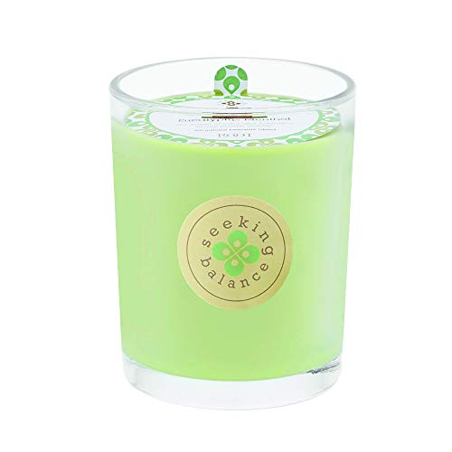 Root Candles Seeking Balance Large Spa Candle, 15-Ounce, Relieve: Eucalyptus - Aromatherapy Beeswax Candles