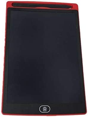 LKJASDHL ラップトップ黒板ペン用デジタルライティングパッドLCDライトエネルギーLCD電子ボードライティング小さな黒板子供の絵のおもちゃ8.5インチタブレット (色 : 赤)