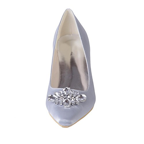 Wedding Party apparel 02 Shoes YC Tip amp; Women's Office L Professional Night 0723 Purple SqvEwzB