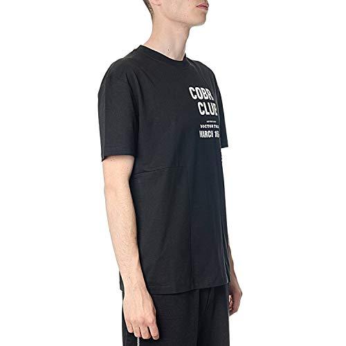 shirt Noir Mcq Mcqueen T By 485503rkt111000 Alexander Coton Homme Ax8BxPwq