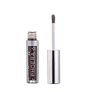 Creazy 12 Color PHOERA Magnificent Metals Glitter and Glow Liquid Eyeshadow (G)