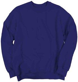 Purple Classic Crew Sweatshirt - 8