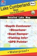 (Lake Cumberland West Fishing Map (Kentucky Fishing Map Series,)