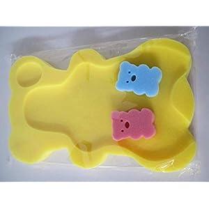 9 Colors Sponge Baby Bath Mat Non-Slip Sponge Mat Anti-Skid Bathtub Infant Bath Pad Newborn Seat for Baby Care Useful…