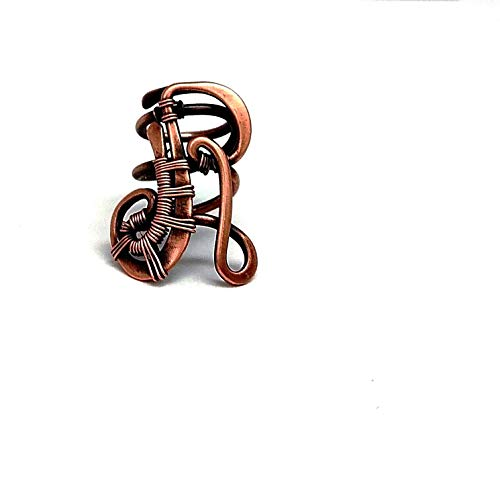 Personalized Loc Jewelry Initial R, Copper Letter Bead for Dreads or Braids, Monogram Dreadlock Accessory