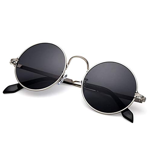 Aviador Retro Nuevas Hombre de UV UV A Vogue sol Running para Redondas Gafas de protección Hipster TEgqBaww
