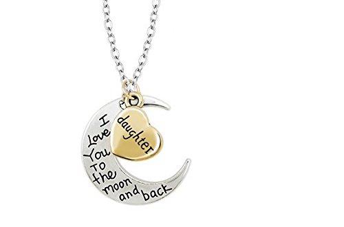 Liroyal JE-15 Necklace Pendant, Daughter