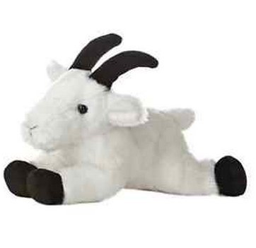 New Arrival Rocky Mountain Goat Plush Stuffed Animal Toy 8