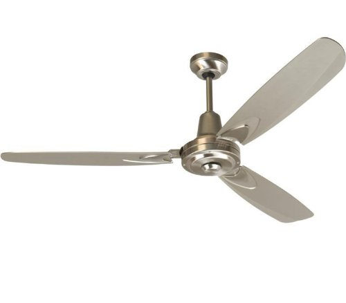 Craftmade Fans VE58SS Velocity Collection 58-Inch Blade Finish and Wall Control Ceiling Fan with Stainless Steel Motor, Appliances for Home
