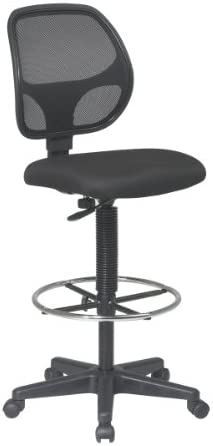 related image of Office Star Deluxe Mesh Back Drafting Chair