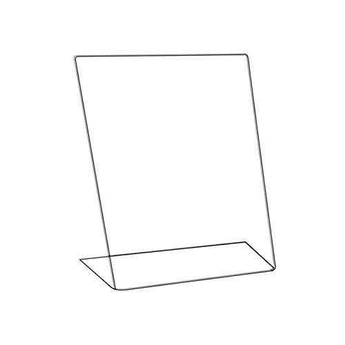 Poster Size 420 X 297 MM L-Shaped Acrylic Poster Menu Holder Perspex Leaflet Display Stands A3 A4 A5 A6 A4 Landscape