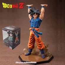 Anime Dragon Ball Z ZERO Son Goku Genki Dama Spirit Bomb Action Figure Juguetes DragonBall Figures Brinquedos Kids Toys 6.8″
