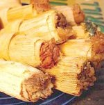 One Half-Dozen (6) Sweet Cinnamon Raisin Apple Tamales by Texas Lone Star Tamales