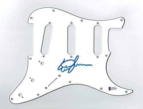 Eric Johnson Signed Guitar Pickguard Certified Authentic Beckett BAS COA