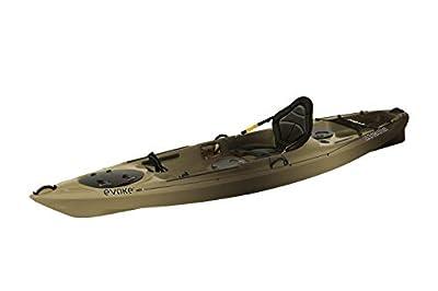 Evoke Navigator 120 Fishing Kayak Camo