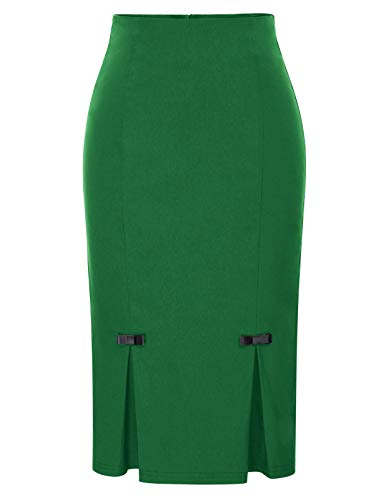 Belle Poque Green St. Patrick's Day Skirt Cocktail Party Skirts XL BP587-6 -