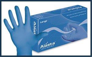 Dash Alasta Powder-Free Nitrile Exam Gloves Small Case by Dash