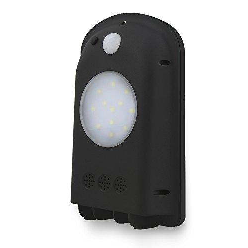 Solar lights,Aityvert Solar Sensor Wall Light 12 LED Outdoor Waterproof Motion Sensor Security light Sensor Actived Outo On/Off for Garden,Wall,Deck,Yard Black