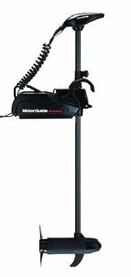 """Wireless W45 Freshwater Bow Mount Trolling Motor - Wireless Foot Pedal - 12v-45lb-48"""""""