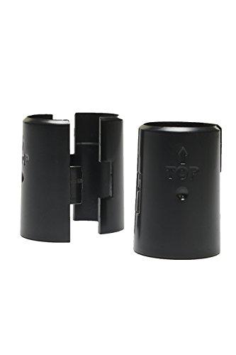 Review Apollo Hardware Shelf Clips/ Split sleeves, Black, 2 Pack / By Apollo Hardware by Apollo Hardware