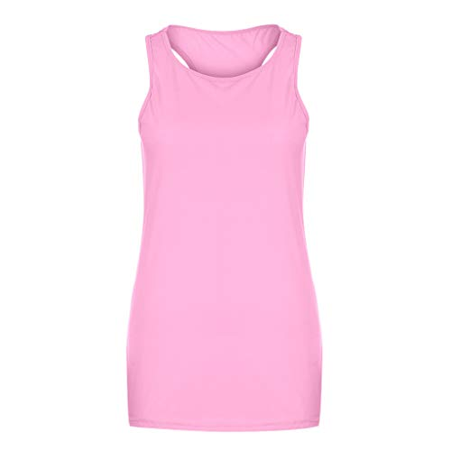 Shiny Violet Transparent Sunglasses - POQOQ Tank Women Basic Style Sleeveless T-Shirt Casual U-Neck Solid Color Tops(Pink,2XL)
