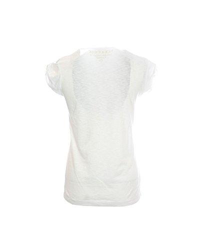 HAPPINESS Damen T-Shirt weiß Bianco XX-Large
