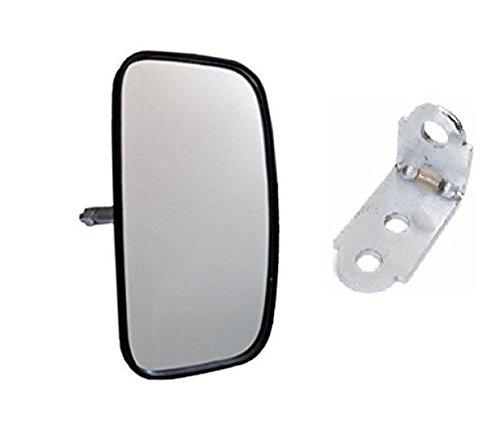 - Mirror with bracket universal forklift truck, golf car, clark, toyota, yale, hyster, komatsu 58720-26600-71, nissan, caterpillar