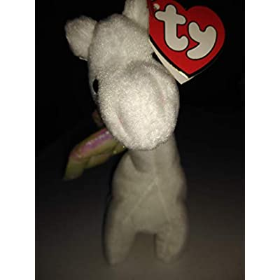 TY Beanie Baby - MAGIC the White Dragon (4th Gen hang tag): Toys & Games