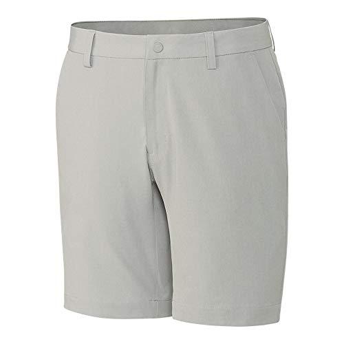 Cutter & Buck Golf Shorts - Cutter & Buck Men's CB Drytec 50+UPF Moisture Wicking Bainbridge Sport Short, Light Grey, 38