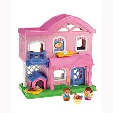 Amazon Com Fisher Price Little People Busy Day Home
