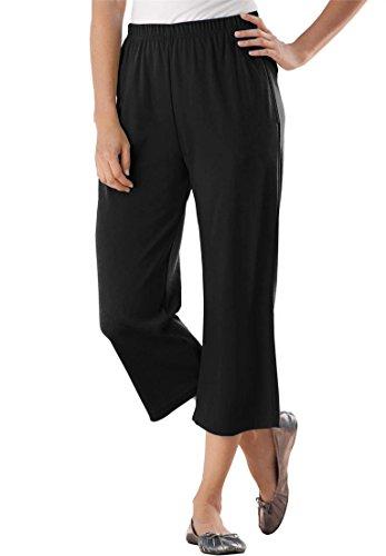 Plus Size Capri Pants - 6