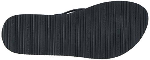 Tommy Hilfiger M1285ellie 8r, Sandalias de Punta Descubierta para Mujer Negro (Black 990)