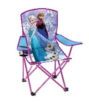 Disney Camp Chair makes fun camping activities kids love and adults will too to keep from being bored with fun camping ideas for kids