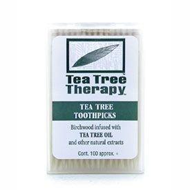 Tea Tree Therapy Toothpicks Tea Tree Thrpy 100 Ct