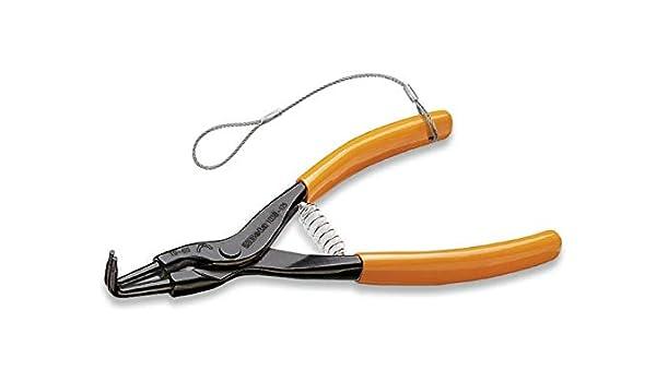 H-SAFE - Alicates de punta doblada a 90° para anillos elásticos de seguridad para árboles con asas recubiertas de PVC: Amazon.es: Bricolaje y herramientas