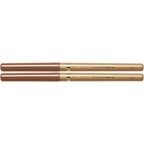 L'Oreal Paris Cosmetics Color Riche Lip Liner, Toffee To Be, 2 Count
