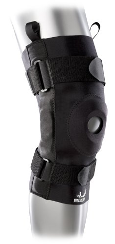 Hinged Knee Brace - Compression Knee Skin with Hinge for ACL, MCL, Meniscus & General Knee Pain - By BioSkin by BioSkin