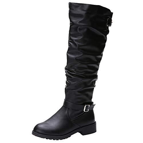 Combattimento Stivali Stivali Stivali Stivali Esterni Tacco Invernali Nero Heel   e95b17