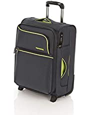 Flylite Spin Air 3.0 50cm Soft Suitcase Luggage Trolley Charcoal Small