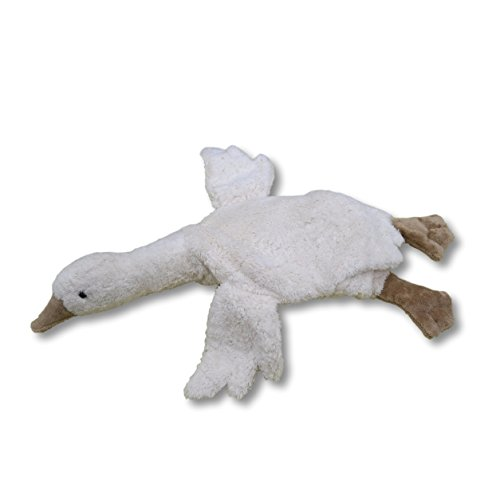 Senger Stuffed Animals - Organic Cotton Goose Warming Pillow - with Cherry ()