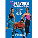 3 Flavors: Aerobic Dance Workout African, Latin and Hip Hop With Debra Bono