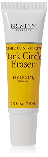 BREMENN CLINICAL Hylexin Dark Circle Eraser (.5 oz.)- Specially Formulated Cosmetic Cream that Addresses Serious Dark Circles and Visible Puffiness Surrounding the Orbital Eye Area