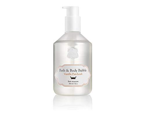LALINE World Of Scents Bath & Body Bubble Vanilla Patchouli Fragrance 17 oz