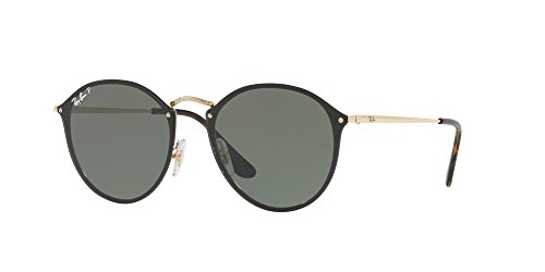 Ray-Ban RB3574N 001/9A BLAZE ROUND Sunglasses 59mm - Case Ray Ban Buy