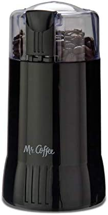Mr. Coffee Electric Coffee Grinder Coffee Bean Grinder Spice Grinder, Black