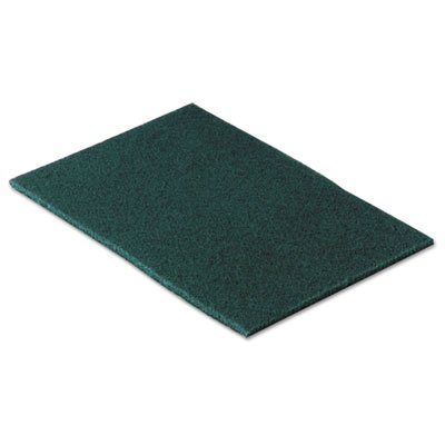 Scotch-Brite 96CC Commercial Scouring Pad, 6 x 9, 10/Pack